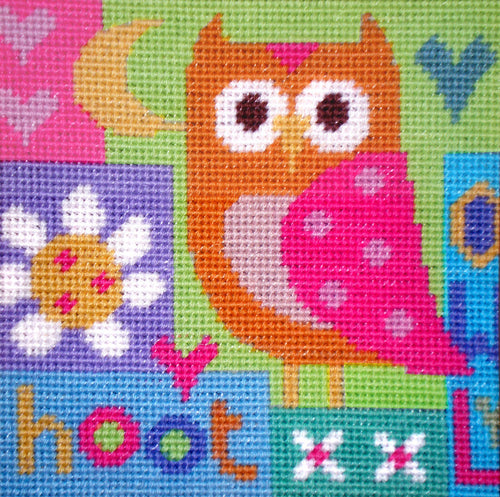 Hoot Needlepoint Kit
