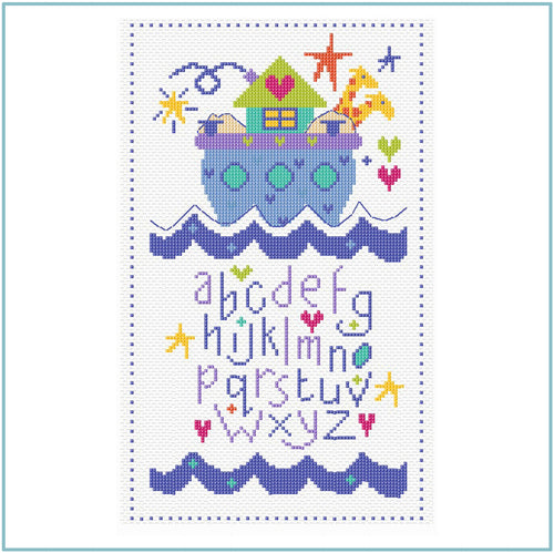 Ark Sampler Cross Stitch Kit