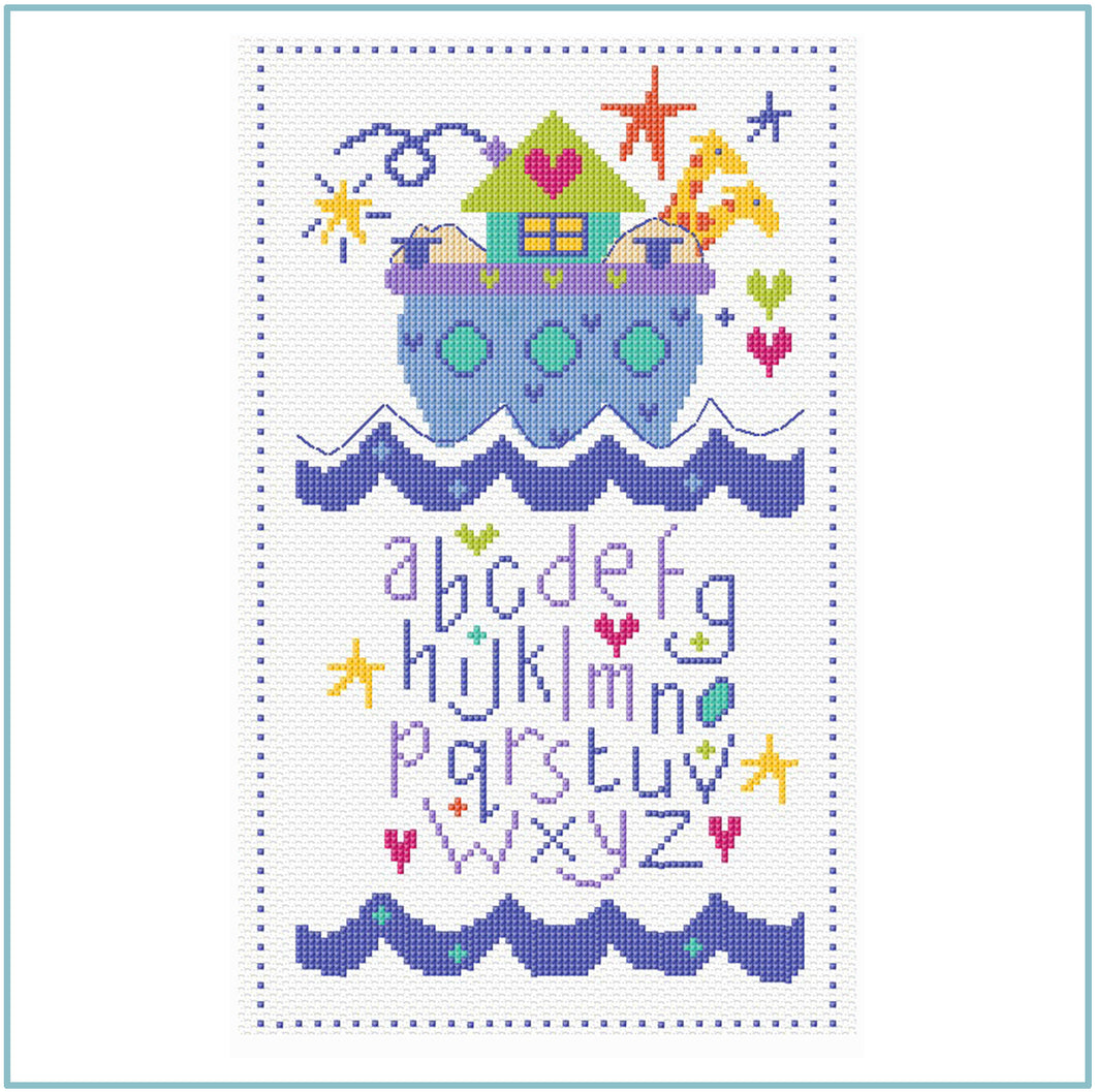 Ark Sampler Cross Stitch Chart