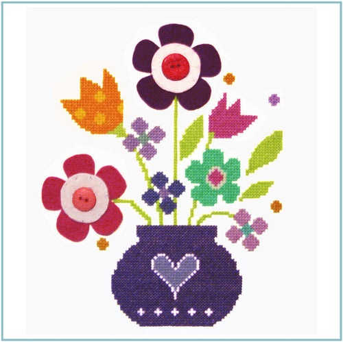 Bouquet Cross Stitch Kit