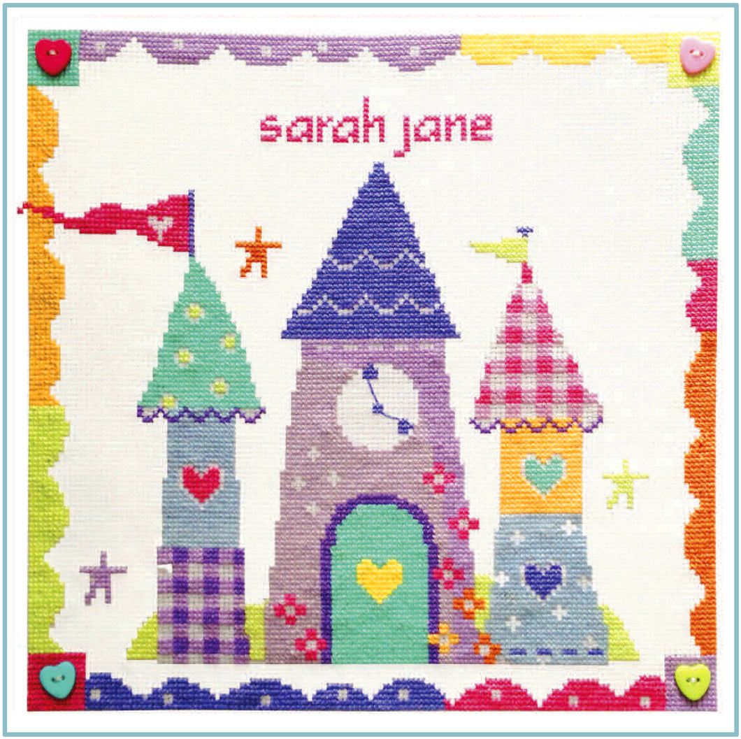 Enchanted Castle Cross Stitch Chart