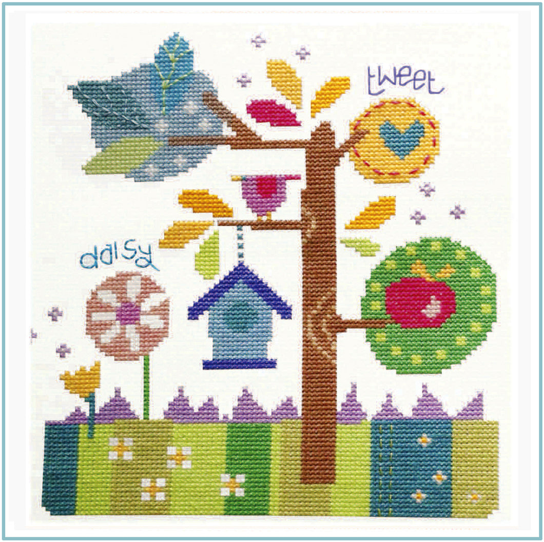 In the Garden Cross Stitch Chart