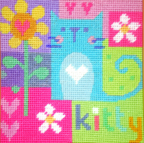 Kitty Needlepoint Kit