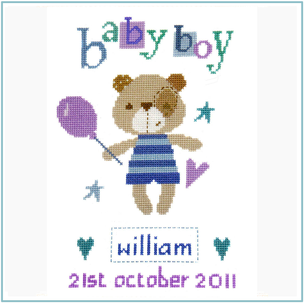 Madison Boy Cross Stitch Kit