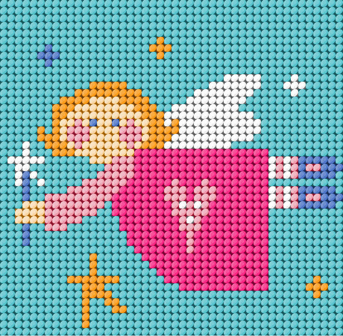Angel Needlepoint Kit