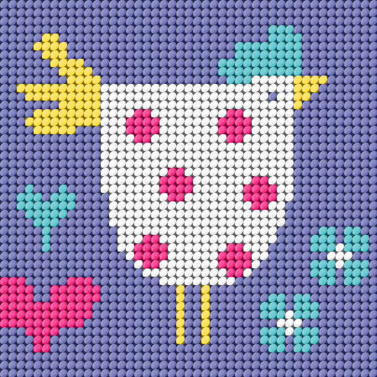 Chicken Needlepoint Kit