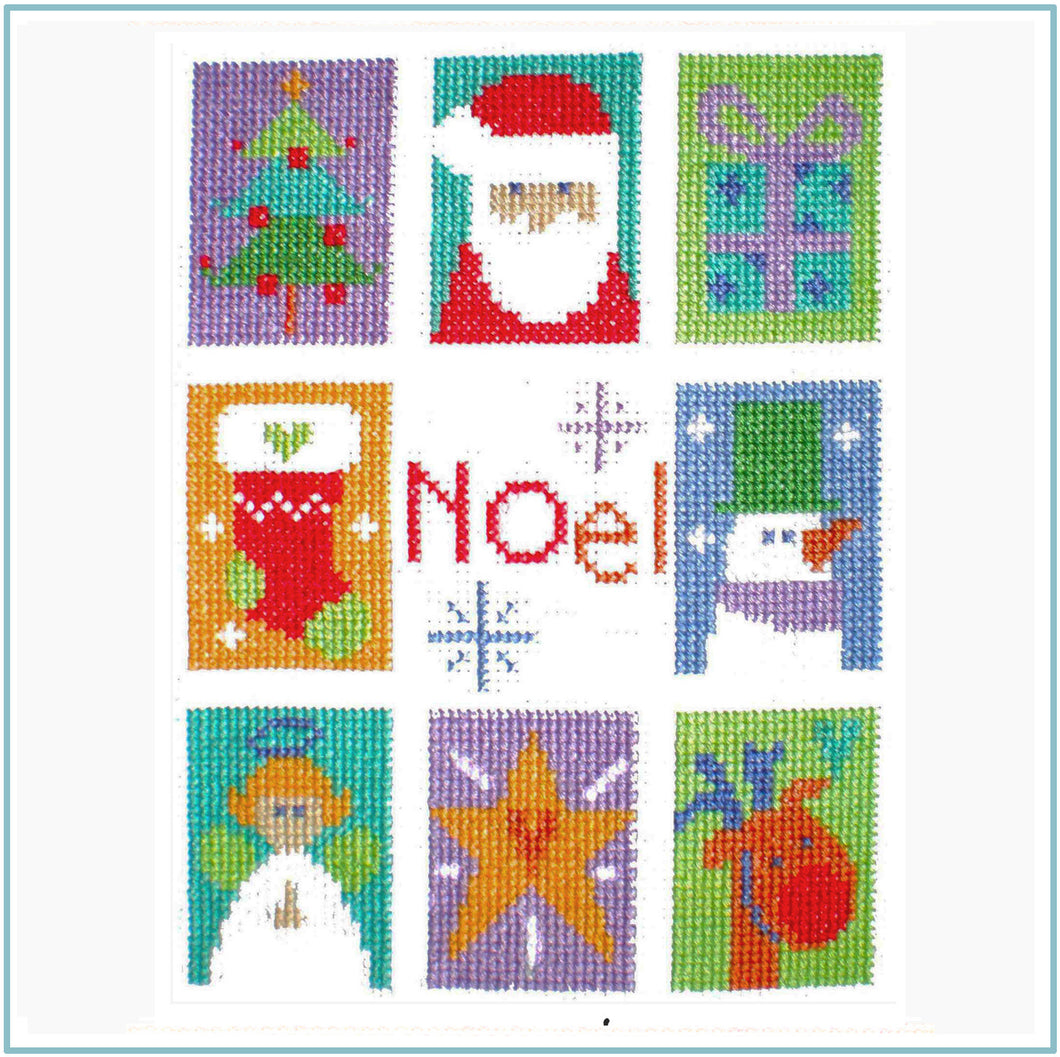 Noel Cross Stitch Chart