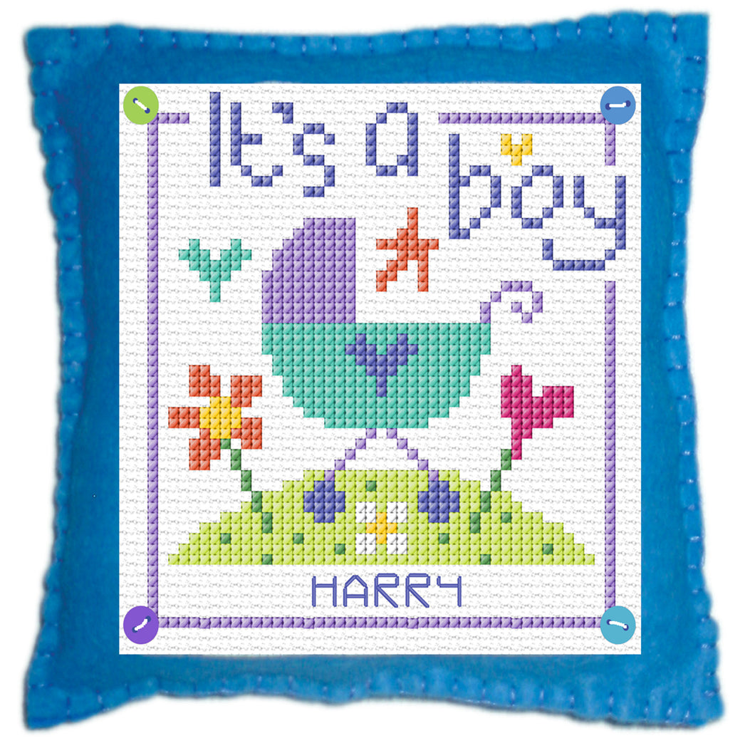 Baby Boy Stitch a Gift Cross Stitch Kit