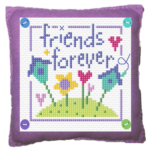 Friends Stitch a Gift Cross Stitch Kit
