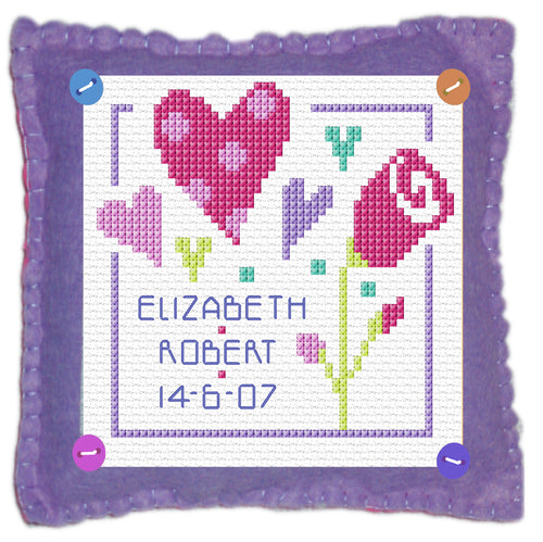 Love Stitch a Gift Cross Stitch Kit