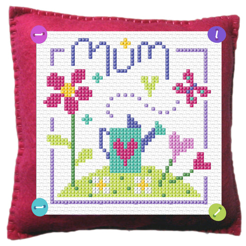 Mum Stitch a Gift Cross Stitch Kit