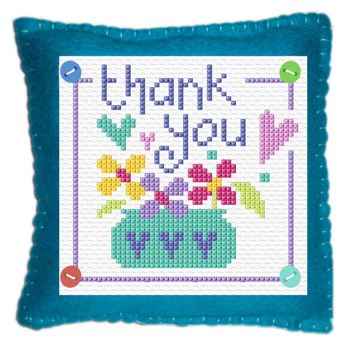 Thank You  Stitch a Gift Cross Stitch Kit