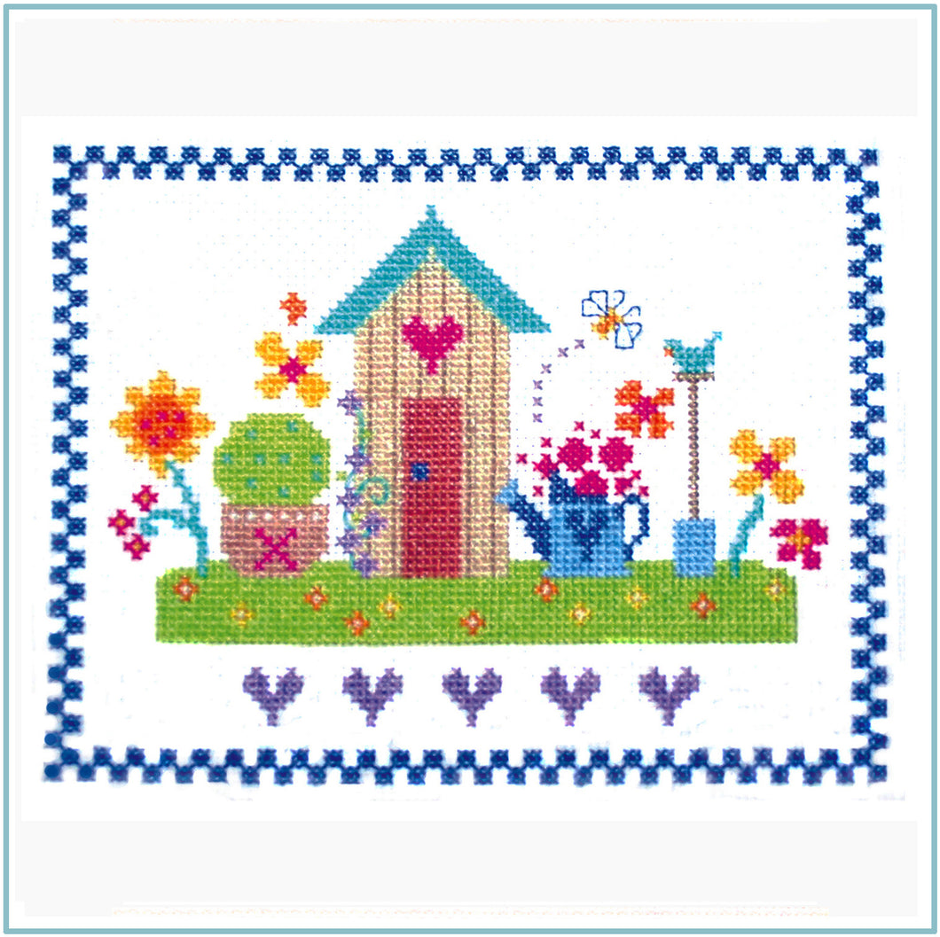 Summertime Cross Stitch Chart