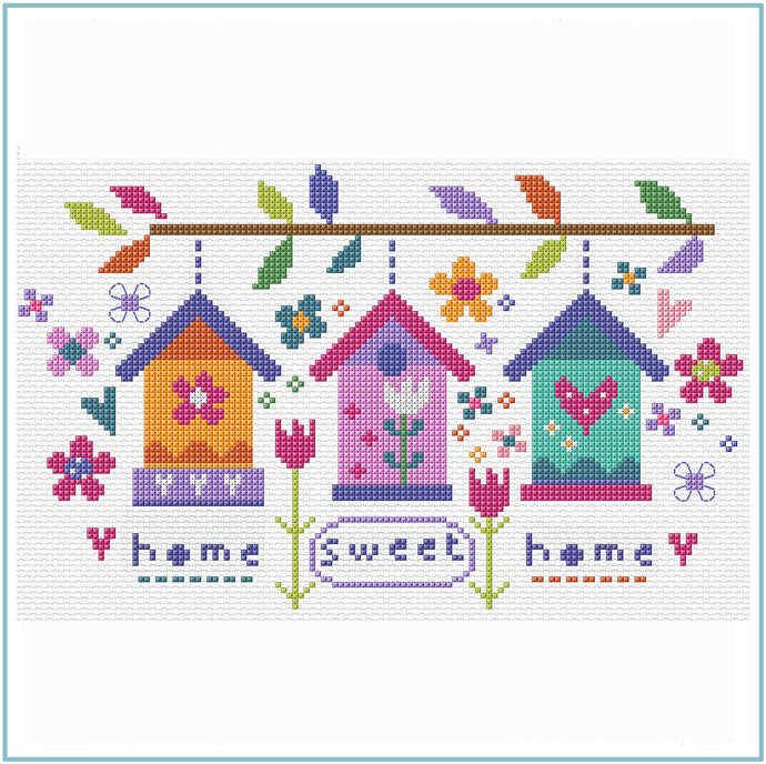 Sweet Garden Sampler Cross Stitch Kit