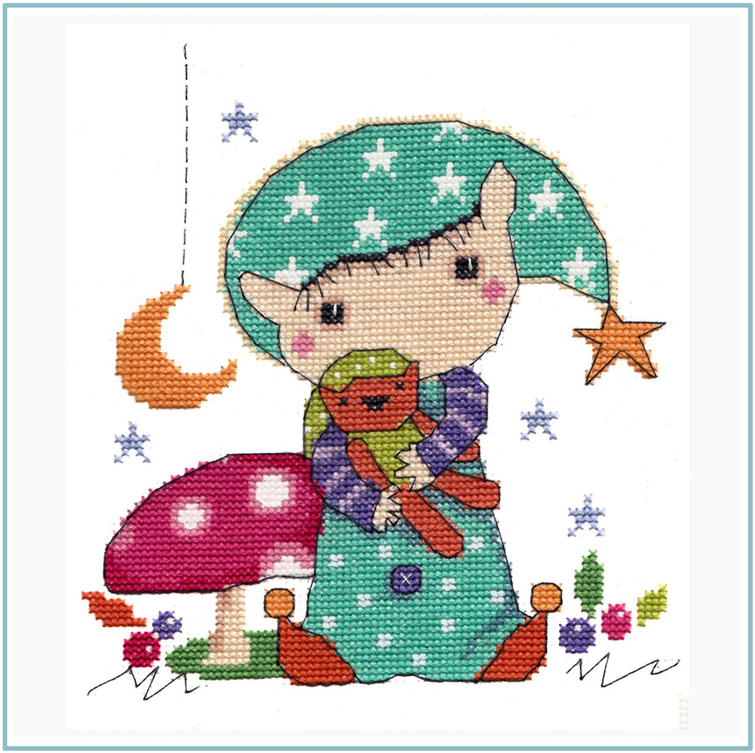 Time for Bed Cross Stitch Chart