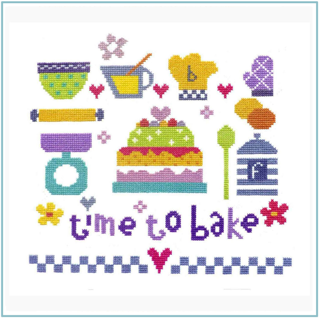 Time to Bake Cross Stitch Kit
