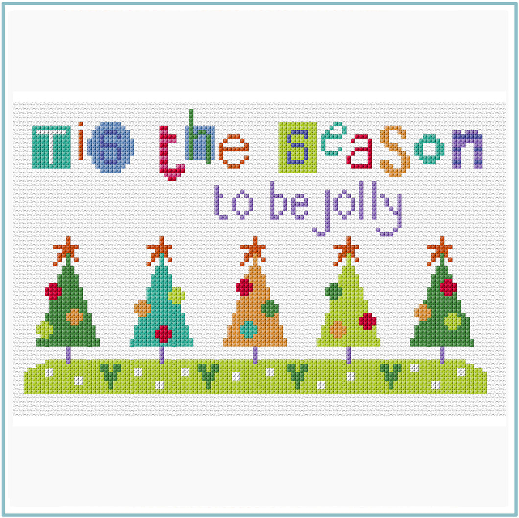 Tis the Season Cross Stitch Chart