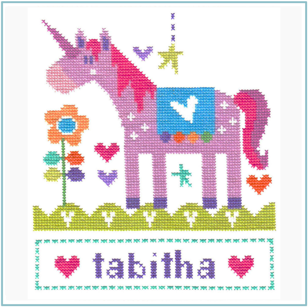 Unicorn Cross Stitch Chart