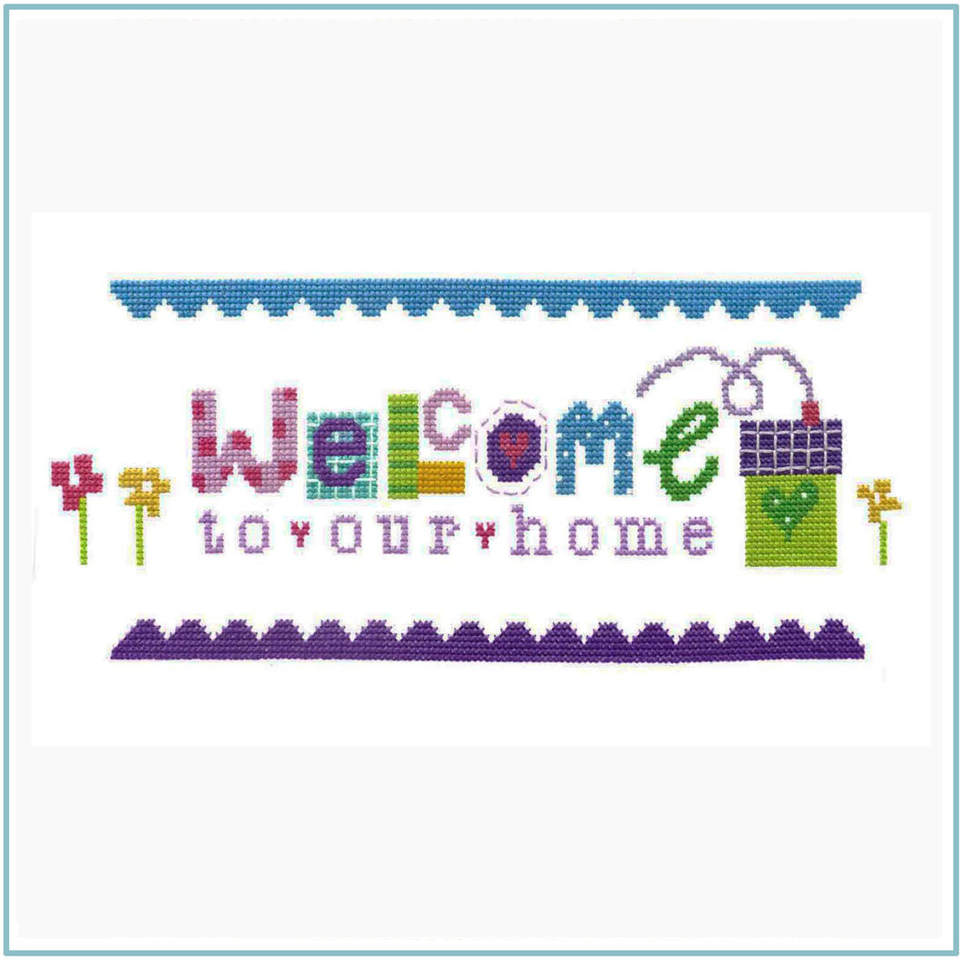Welcome Cross Stitch Chart