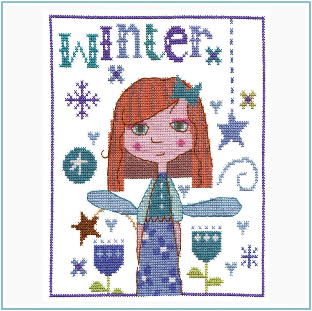 Winter Fairy Cross Stitch Kit