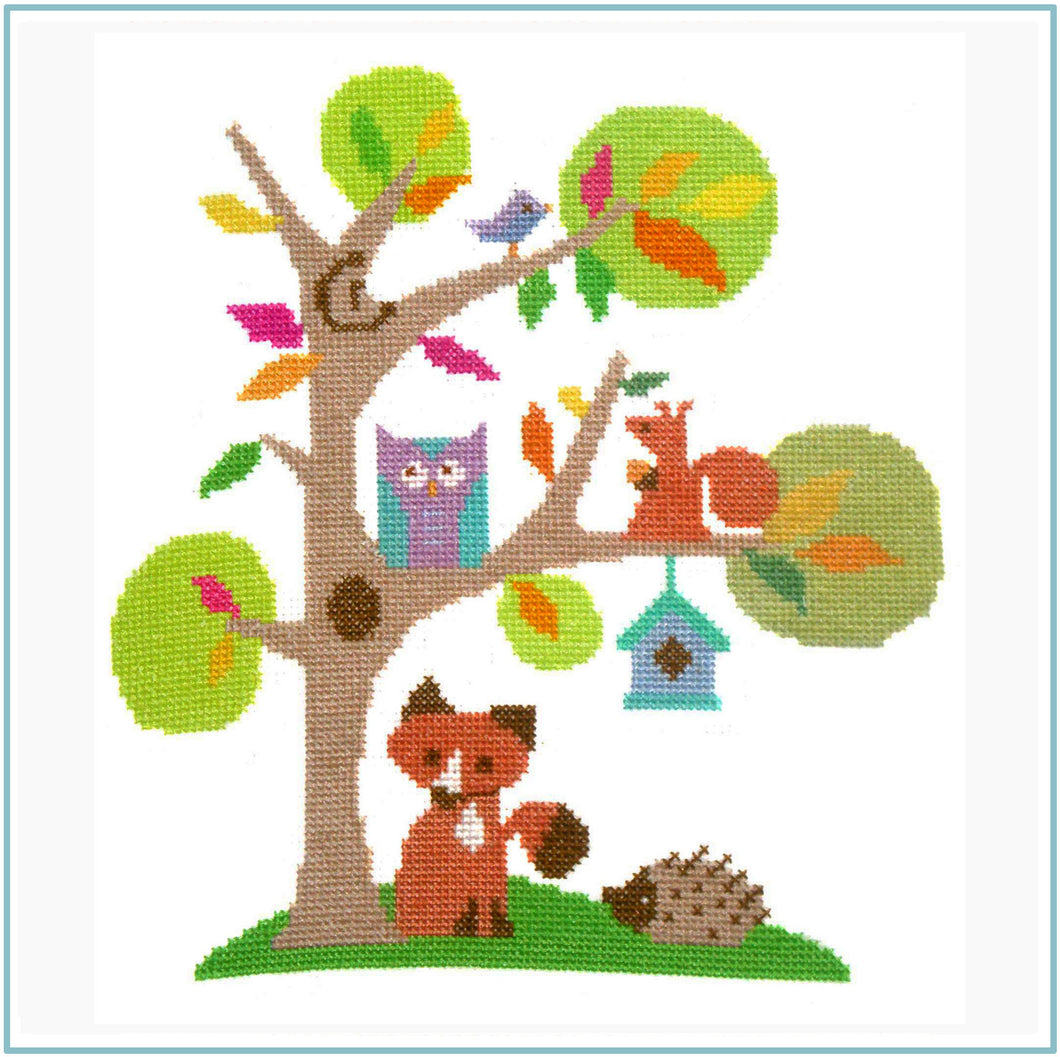 Woodland Cross Stitch Kit