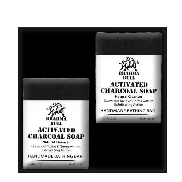 Charcoal Soap Set - Brahma Bull