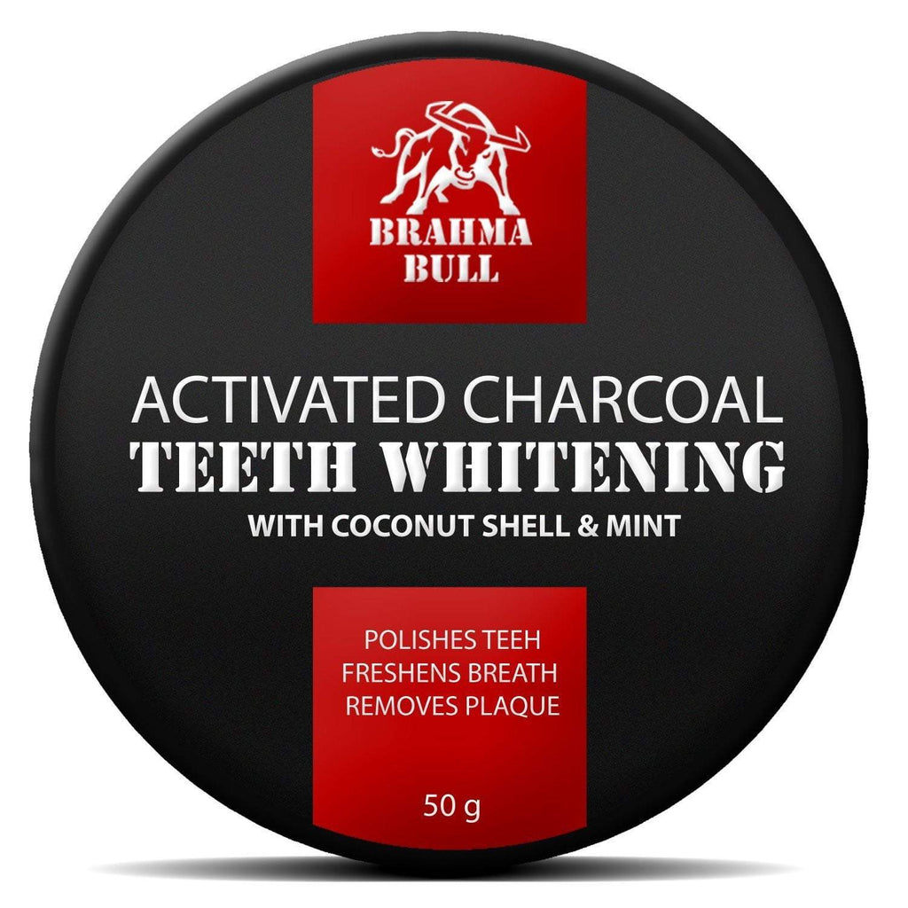 Activated Charcoal Tooth Powder - Brahma Bull - Men's Grooming