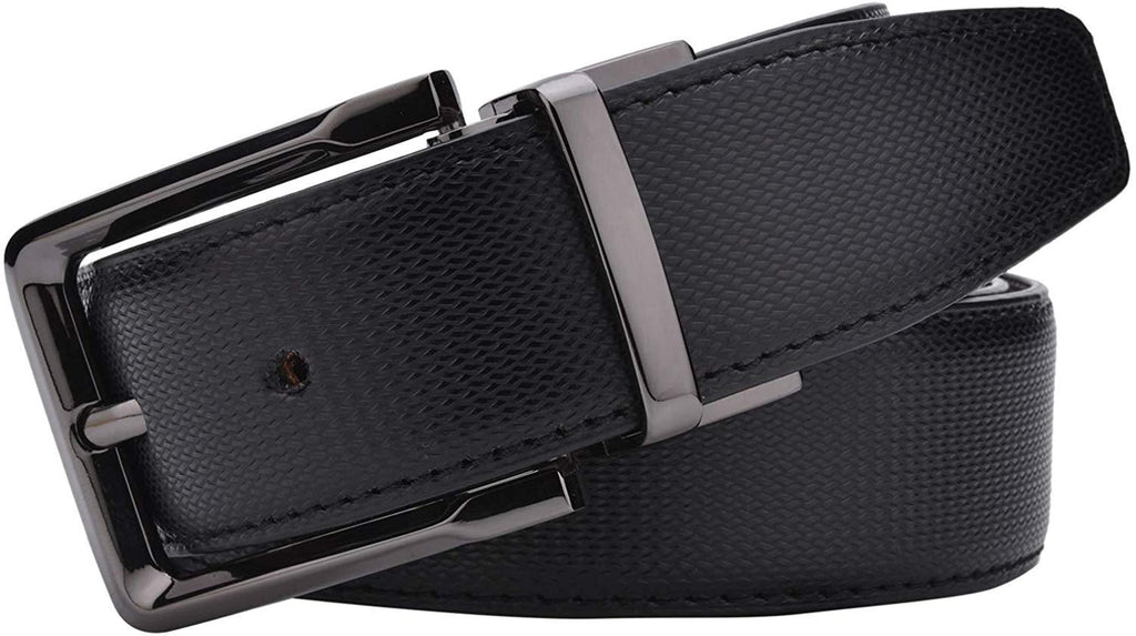 Brahma Bull Genuine Leather Belt Reversible - Brahma Bull