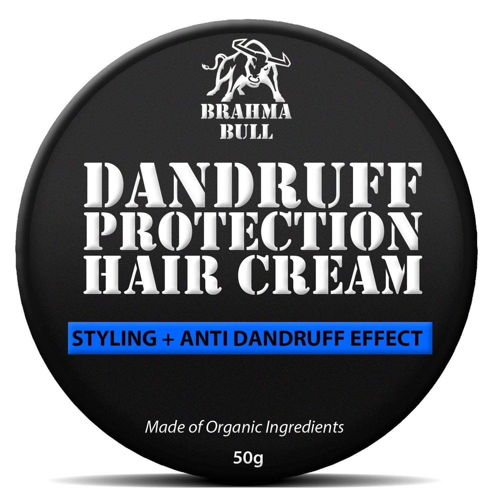 Dandruff Protection Hair Cream - Brahma Bull - Men's Grooming