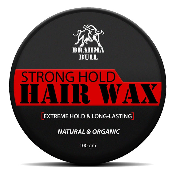 Strong Hold Hair Wax - Brahma Bull