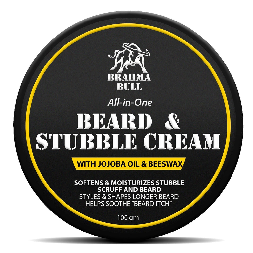 Beard & Stubble Cream - Brahma Bull - Men's Grooming