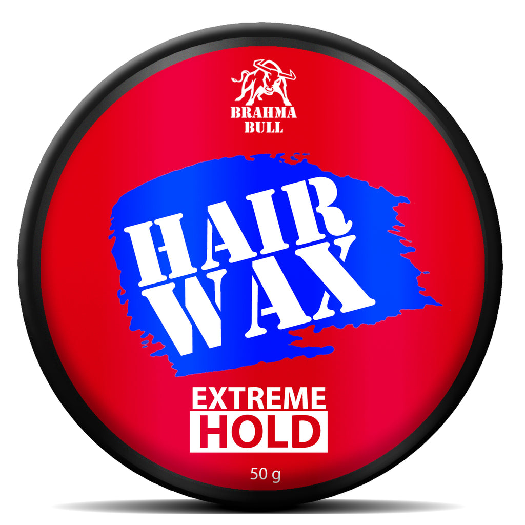Extreme Hold Hair Wax - Brahma Bull