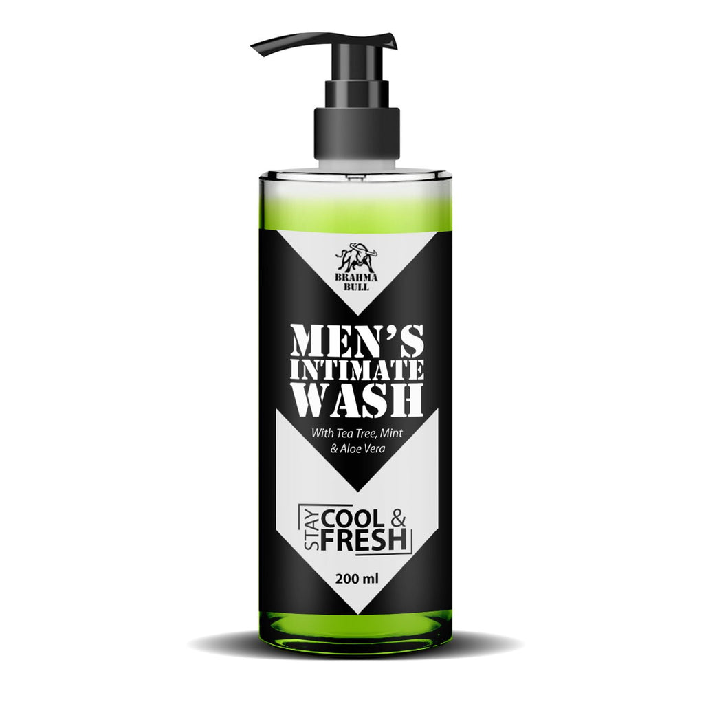 Intimate Wash & Tea Tree Shower Gel - Brahma Bull - Men's Grooming