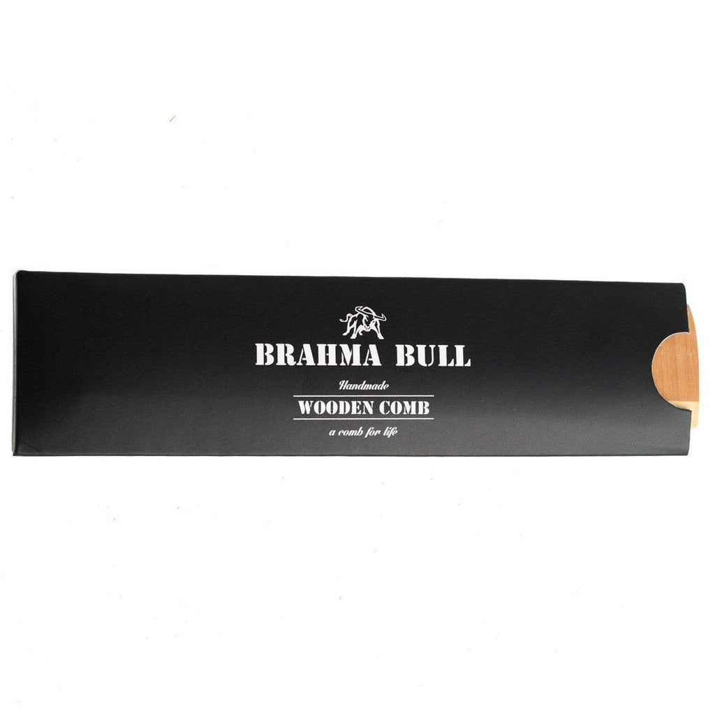 Wooden Beard Comb - Brahma Bull - Men's Grooming