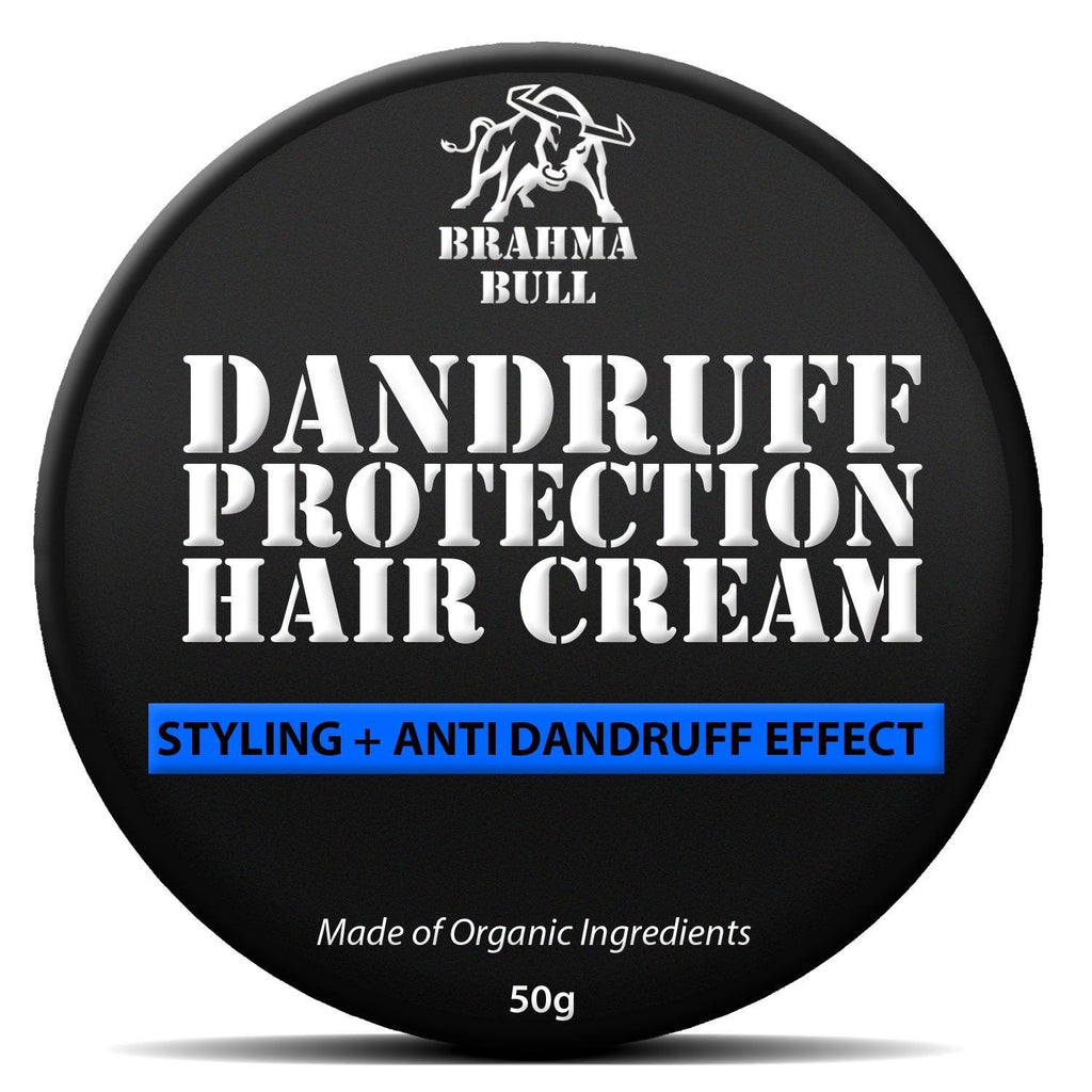 Dandruff Protection Hair Cream (Pack of 2) - Brahma Bull - Men's Grooming
