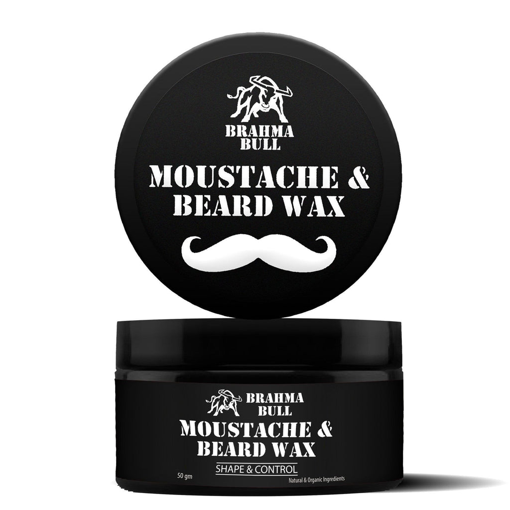 Moustache & Beard Wax (Pack of 2) - Brahma Bull - Men's Grooming