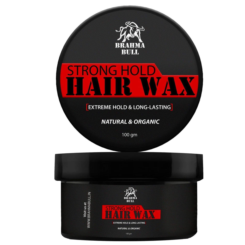Strong Hold Hair Wax - Brahma Bull - Men's Grooming