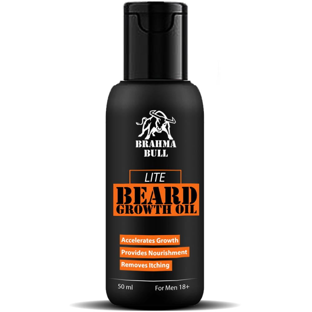 Lite Beard Growth Oil - Brahma Bull - Men's Grooming