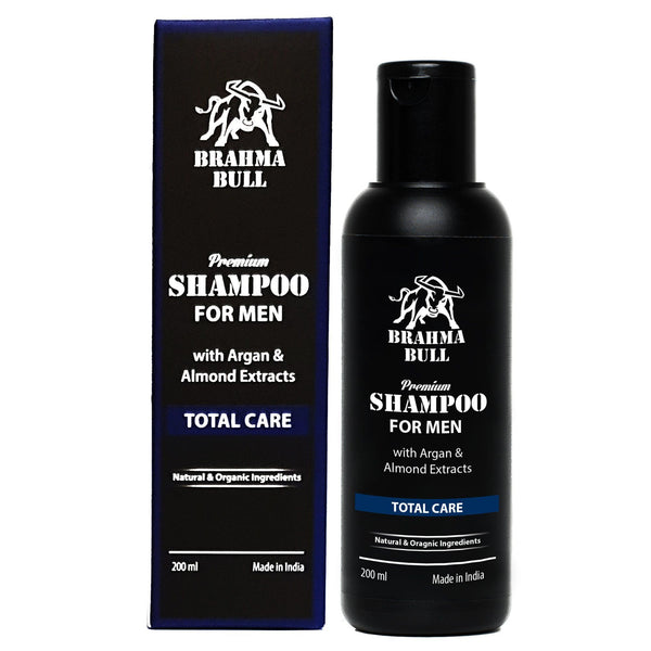 Premium Shampoo for Men (Pack of 2) - Brahma Bull