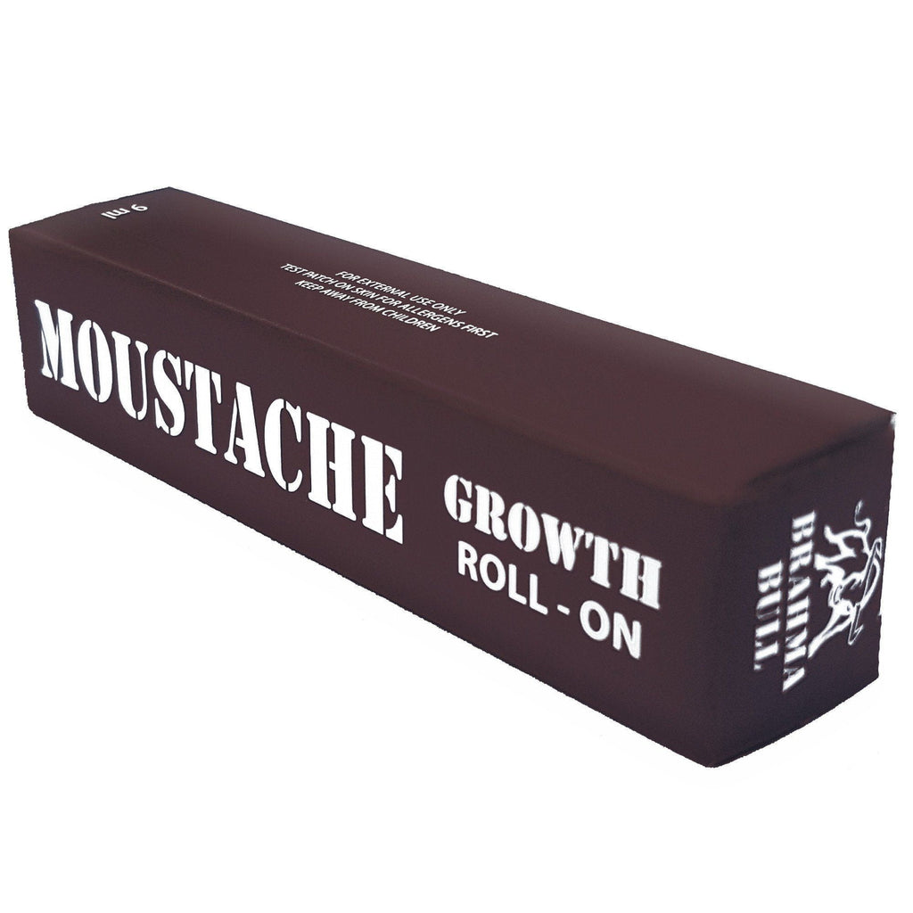 Moustache Growth Roll On - Brahma Bull - Men's Grooming