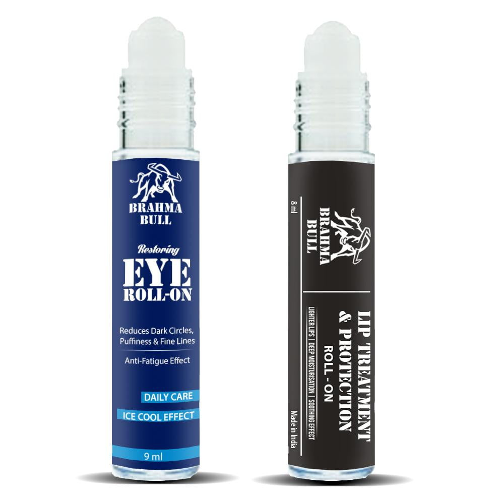 Eye Roll On & Lip Roll On - Brahma Bull - Men's Grooming