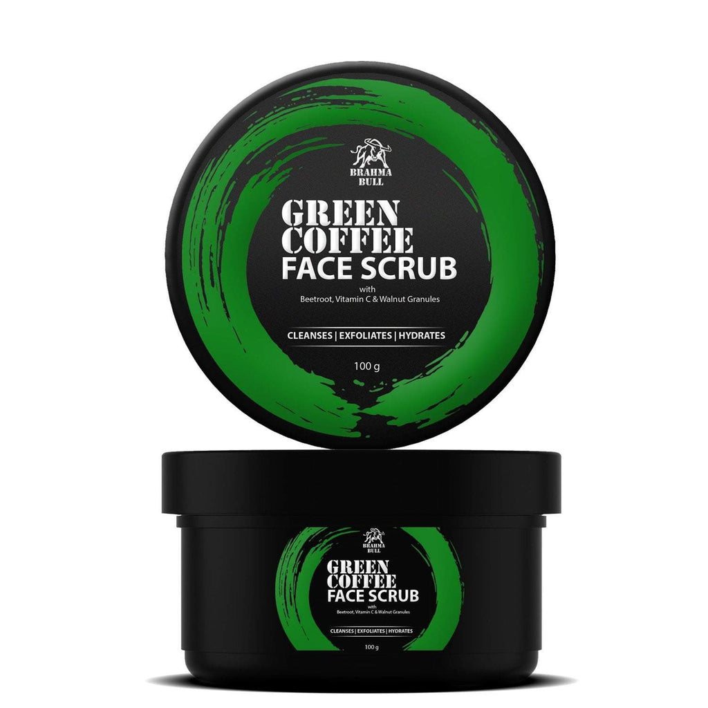 Green Coffee Scrub - Brahma Bull - Men's Grooming