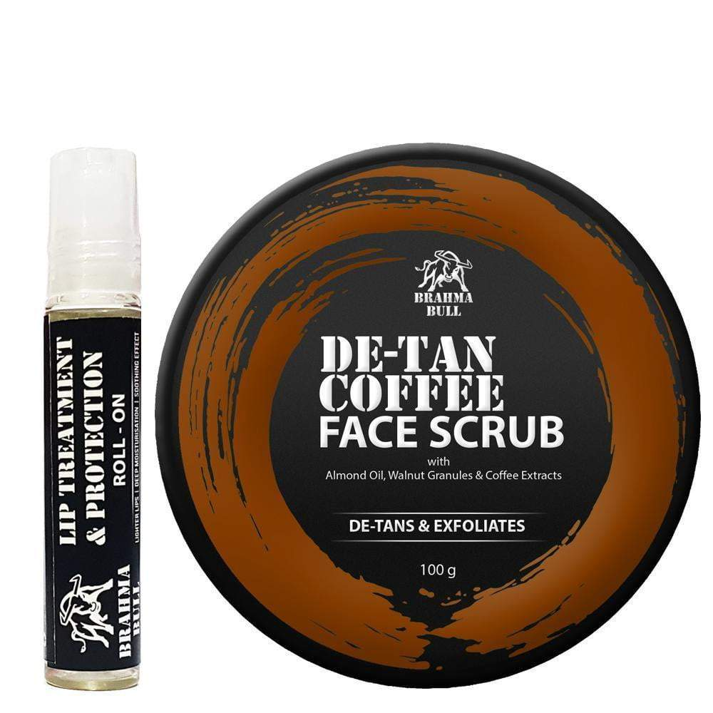 Lip Roll On & Face Scrub - Brahma Bull - Men's Grooming