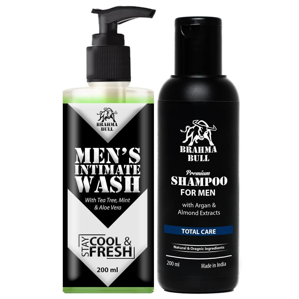Intimate Wash & Shampoo - Brahma Bull - Men's Grooming