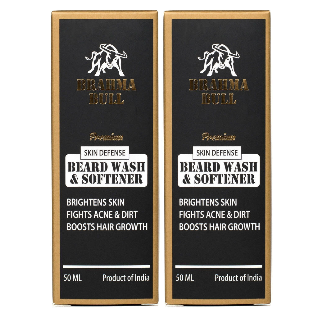 Beard Wash & Softener (Pack of 2) - Brahma Bull - Men's Grooming