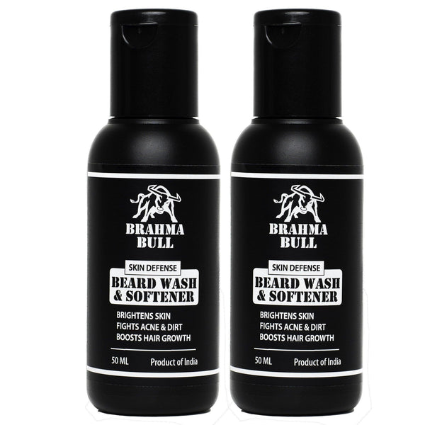 Beard Wash & Softener (Pack of 2) - Brahma Bull