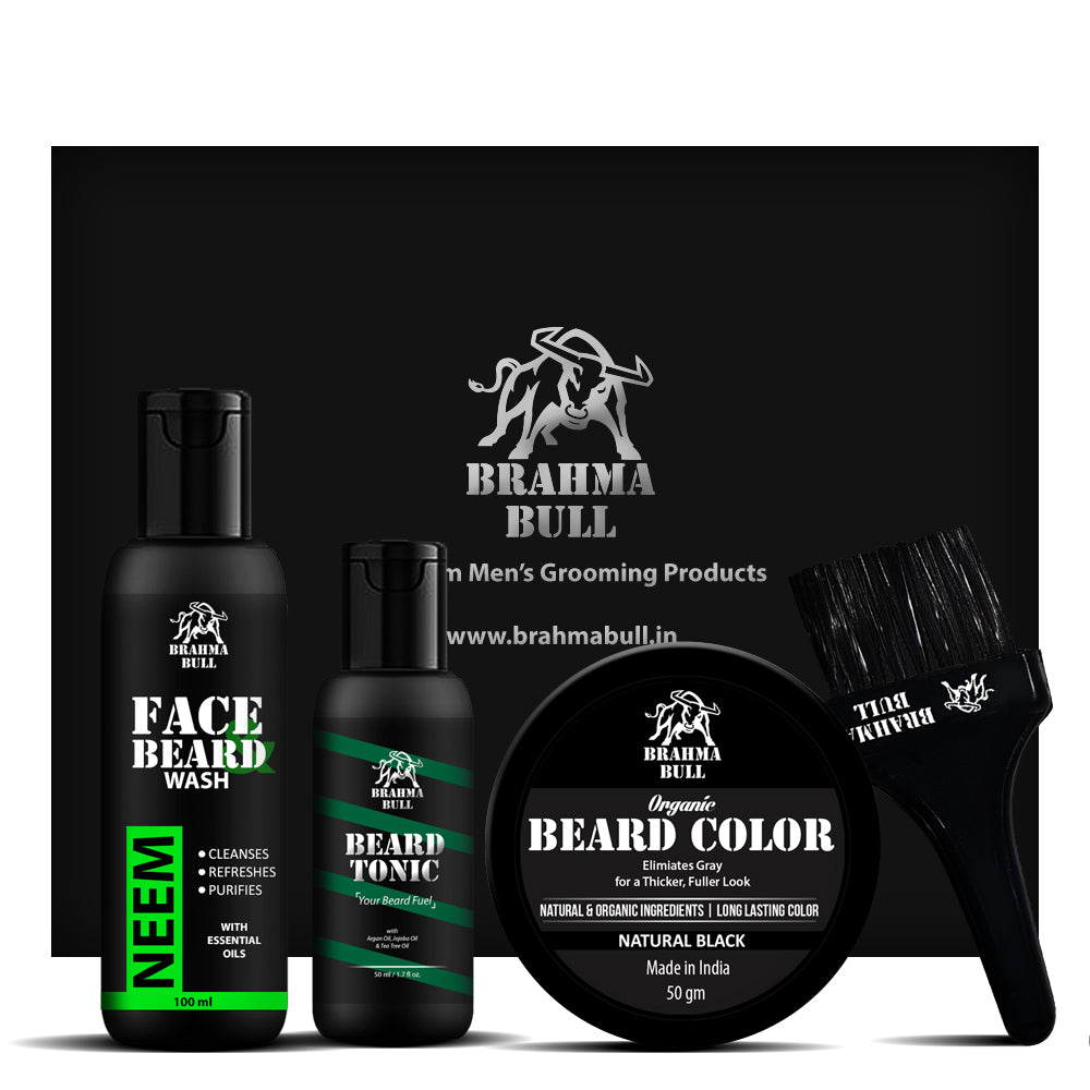 Beard Color Kit - Brahma Bull - Men's Grooming