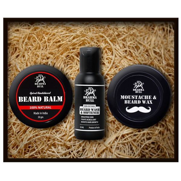 Beard Essential Gift Set - Brahma Bull