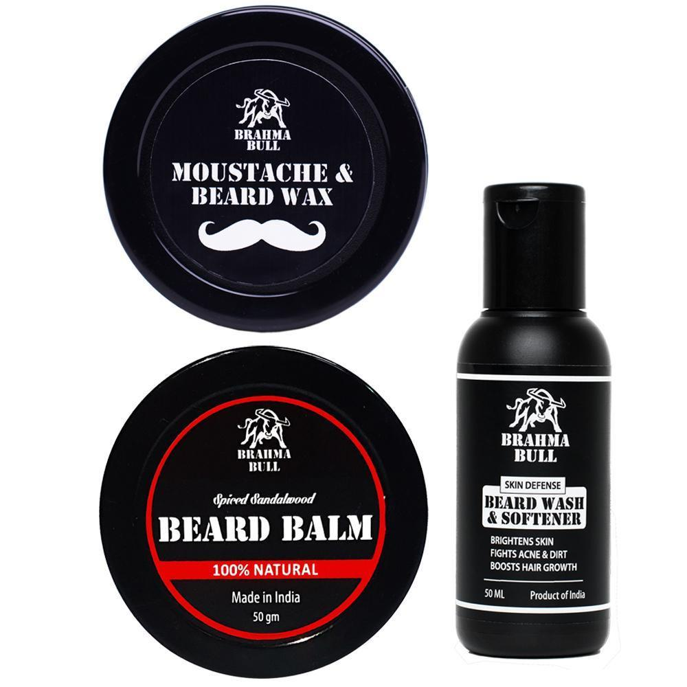 Beard Essentials Kit - Brahma Bull - Men's Grooming