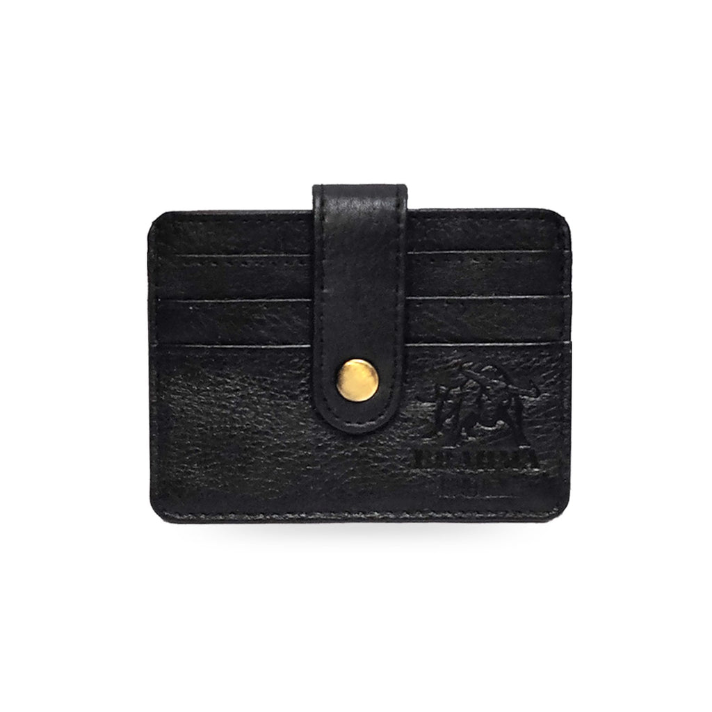 Brahma Bull 5 Pocket Card Holder - Black - Brahma Bull